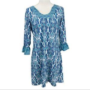 Ava Lynn Paisley Summer Dress - Small